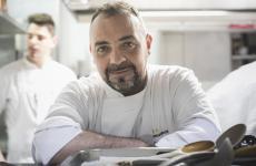 Lo chef Claudio Villella
