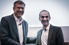 Scott Clark, membro del Comitato Esecutivo delGruppo Michelin, eBertrand Jelensperger, vicepresidente senior,TripAdvisorRestaurantse CEO diTheFork
