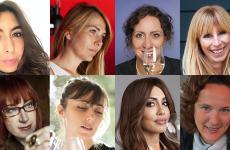 Le wine expertitaliane interpellate.In alto, da sinistra: Francesca Ciancio,Meritxell Falgueras,Chiara Giovoni,Asa Johansson (ne abbiamo parlato ieri). In basso,Alessandra Piubello,Leila Salimbeni,Vania ValentinieValentina Vercelli(nella parte di oggi)