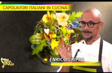 Enrico Crippa e la sua Insalata 21... 31... 41.. 51... a Striscia la notizia