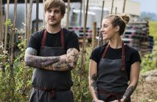 Matt Stone and Jo Barrett, partners and co-chefs at Oakridge Winery in the Yarra Valley, Australia, 900 km south-west of Sydney