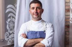 Pietro D'Agostino, classe 1972, chef de La Capinera (Messina, una stella Michelin) e di Kisté easy gourmet, entrambi a Taormina