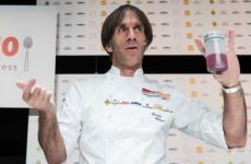 Davide Oldani, 53 anni, chef del D'O di San Pietro all'Olmo, Cornaredo (Milano)