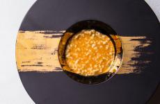 Granetti, estrazione di canocchie, burrata e crema dicascigni: il piatto dell'estate di Davide Pezzuto