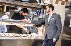 Luca Gambaretto, giovane imprenditore della ristorazione veronese