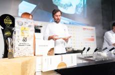 Carlo Cracco (ristorante Cracco in Galleria, Milano) tra i mattatori di Identità di Pasta al congresso di Identità Golose(fotoBrambilla-Serrani)