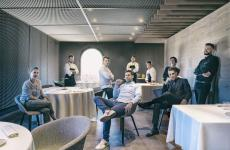 Lo staff del Vitique, nuovo ristorante gastronomico a Greve in Chianti (Firenze)
