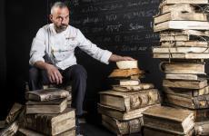 Massimo Alverà, titolare di una pasticceria di Cortina che porta il suo cognome (tutte le foto Brambilla / Serrani)