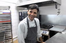 Davide Atzeni, chef-patron del nuovo Coxinendi di Sanluri in Sardegna, nella foto di Tanio Liotta