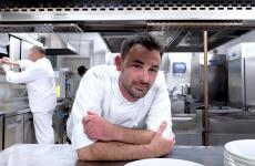 Lo chef Simone Breda, ristorante Sedicesimo Secolo di Pudiano di Orzinuovi (Brescia). Tutte le foto sono di Tanio Liotta