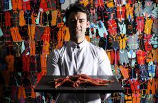 Diego Poli è da novembre lo chef di Filippo Mud a Pietrasanta, in Versilia. Foto di Lido Vannucchi