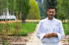 Emanuele Petrosino, 34 anni, chef delristorante Bianca sul LagoaOggiono (Lecco)