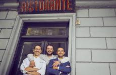 Lorenzo Careggio, Alberto Fele e Marco Pandoli: ossia chef e due patron dell'EraGoffi a Torino, una nuova realtà davvero interessante