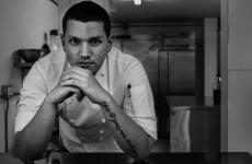 Miguel Warren, 25, from Medellín. He's one of the emblems of the Colombian gastronomic nouvelle vague