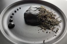 Il nero e il mare: il piatto dell'estate di Francesco Laera(foto di Sonia Gioia)