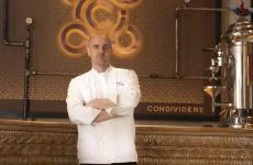Federico Zanasi, classe 1975, da giugno 2018 è lo chef di Condividere, a Torino