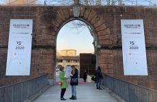 L'ingresso della Fortezza da Basso nei giorni di PrimAnteprima