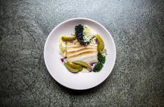Pancia di maiale, anchoiade, papaccelle di Marco Ambrosino