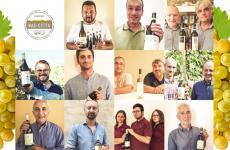 I volti dell'Associazione Produttori di Nas-cëtta del Comune di Novello, nata nel gennaio 2014