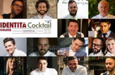 Alcuni dei protagonisti di Identità Cocktail, in programma dal 24 al 26 ottobre nell'ambito di Identità Golose