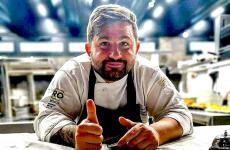 Lo chef Francesco Franzese. Già stellato alla Casa del Nonno Tredici, è alla guida dell'offerta gastronomica del Rear di Nola