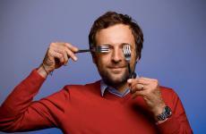 François-Régis Gaudry, lionese, 43 anni, popolare food write francese