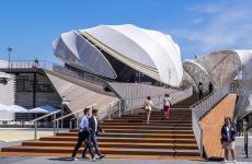 Il titolo del Padiglione tedesco a Expo è Fields of Ideas, campi di idee. Uno spazio espositivo ampio, arioso, pienissimo di contenuti e approfondimenti