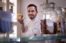 Giancarlo Moranduzzo, prima sous chef e ora pastry chef del Regio Patio del Regina Adelaide, nonché alla guida della pasticceria I Dolci della Regina