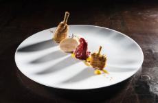 Pollo e peperoni, una delle delizie presentate a Identità di Carne (in questo caso, da Oliver Glowig con i polli forniti da Simone Cozzi). Tutte le foto sono di Brambilla-Serrani