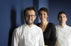 Da sinistra: Alessando Negrini, Stefania Moroni, Fabio Pisani (tutte le foto Paolo Terzi)