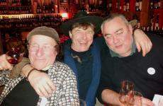 Da sinistra: Jean Pierre Robinot, Philippe Bornard e Fabrice Dodane