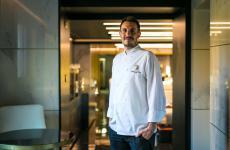 Luca Ludovici, Fiuggi, classe 1986, chef diLiòn – Seafood Wine Cocktailsa Roma (foto Alberto Blasetti)