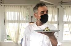 Mauro Uliassi, ristorante Uliassia Senigallia (Ancona), aperto nel 1990, 3 stelle Michelin da 2 anni. Fotodi Gabriele Zanatta