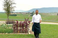 Alessandro Dal Degan,chef-patron de La Tana Gourmet di Asiago