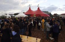The circus tent at MAD, the event that ended earlier this week in Copenhagen