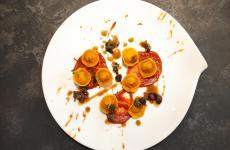 Coniglio, lardo, peperoni e finanziera: la ricetta dell'autunno di Marco Molaro