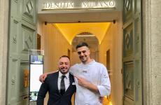 Alessandro Rinaldi e Simone Maurelli: è cambio della guardia tra i due, come resident chef, a Identità Golose Milano
