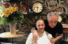 Federico ZanasiandFerran Adrià: they've openedCondividerein Torino