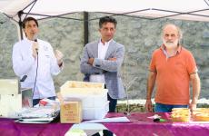 Tommaso Cannata, Giuseppe Li Rosi and Corrado Assenza at Jurnate di Simenza. All the photos are from Concetta Bonini