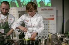 Antonia Klugmann sul palco di Contaminazioni (tutte le foto sono di Brambilla-Serrani)