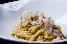 Spaghetti alla Mareggiata: il piatto del 2021 di Deborah Corsi