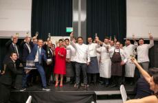 Foto di gruppo per le new entry dell'Associazione Le Soste (e parte del consiglio direttivo)
