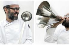 Carlo Porcu, classe 1978, dal dicembre 2014 ha lanciato a Marciano della Chiana una proposta culinaria estrosa com'è lui e la sua famiglia: La Cucina della Lodola, gran ristorante di campagna, estremamente moderno. L'armonia nel piatto. Identità Golose l'ha visitato