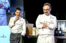 Gianluca Gorini e Paolo Loprioresul palco di Identità Milano 2019 (tutte le foto sono di Brambilla-Serrani)