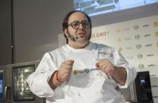 Gonzalo Luzarraga, chef at Rigò in London (all photos from Brambilla-Serrani)