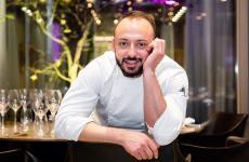 Alessandro Rinaldi, fotografato da OnStageStudio quando ancora era il resident chef di Identità Golose Milano