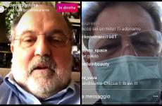 Paolo Marchi ed Enrico Cerea in collegamento su Instagram.Ecco gli appuntamenti delle prossime interviste in diretta alle 16sul canale @identitagolose:  Mercoledì 1Marco Pedron Giovedì 2Claudio Sadler Venerdì 3Renato Bosco Sabato 4Antonia Klugmann Domenica 5Marco Reitano