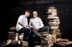 Franco Pepe col figlio Stefano a Identità Golose 2019
