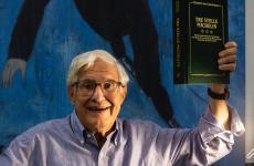 Maurizio Campiverdi, alias Maurice von Greenfields, ottant'anni da compiere il 14 febbraio 2021, nell'immagine scattata da Lido Vannucchi