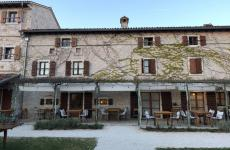 Meneghetti Wine hotel & Wineryis in Bale, Croatia, surrounded by the vineyards and olive groves of Istria